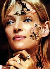 RbINpmw (meifembot) Tags: face robot damage cyborg fembot android gynoid  feminoid