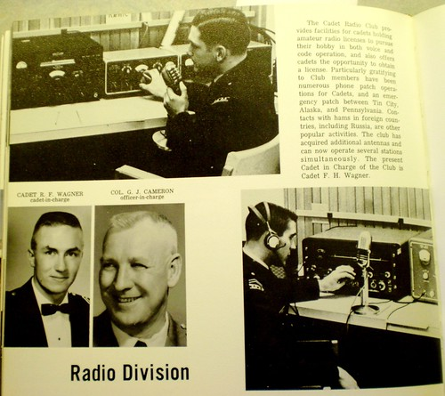 The Cadet Radio Club provides facilities for cadets holding amateur radio ...