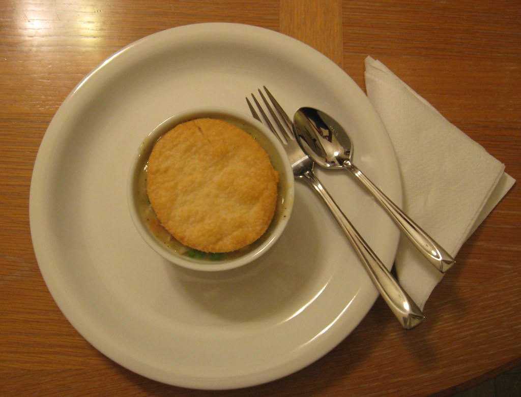 Home-made Turkey Pot Pie