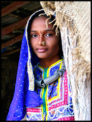 Woman of India (Meghna Sejpal) Tags: meghna sejpal ahmedabad gujarat india life people portrait kutchch lady girl shy look tradition traditional indian colors colorful dress cloths top20india 50millionmissing excellentphotographersaward