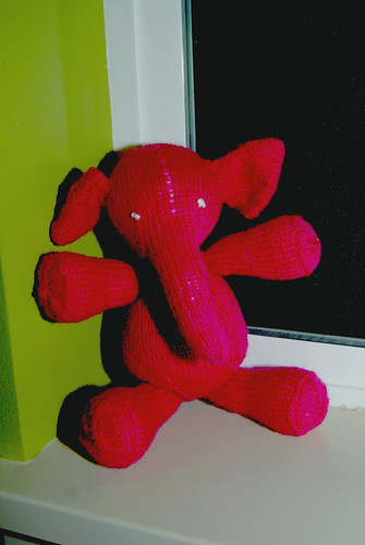 Pink Elephant Rests