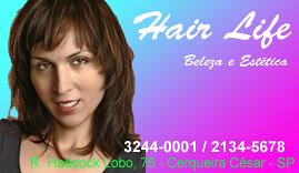 Cartão para o Hair Life por micreira.
