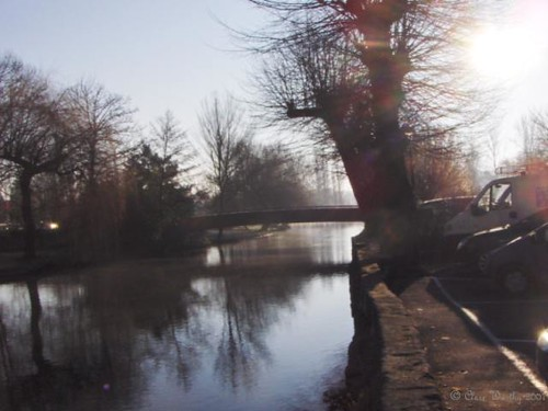 Winter Morning in Brantome