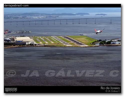 fotos: aterrizando en Río