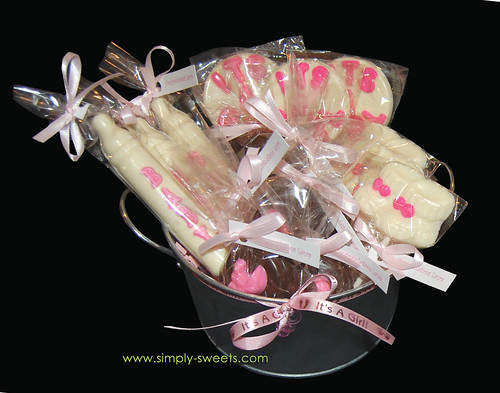 Baby Shower Baby K chocolate favors