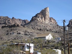 The elephant's tooth in Oatman, Arizona. (12/23/07)