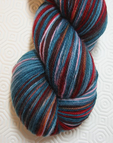 Supersock Merino in Fire in the Forest