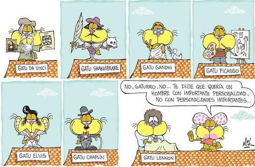 Gaturro (10 tiras cómicas)
