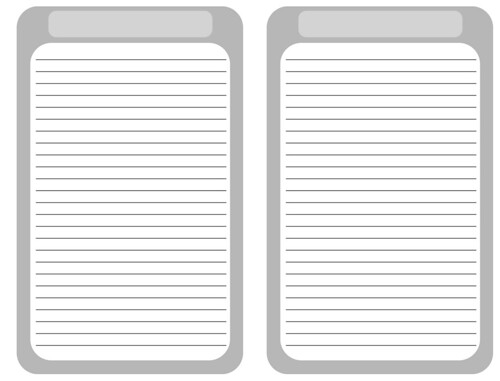 Journal Paper Printable You need to print on the
