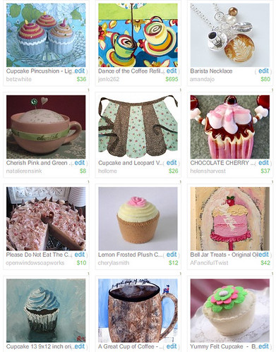 cupcake treasury