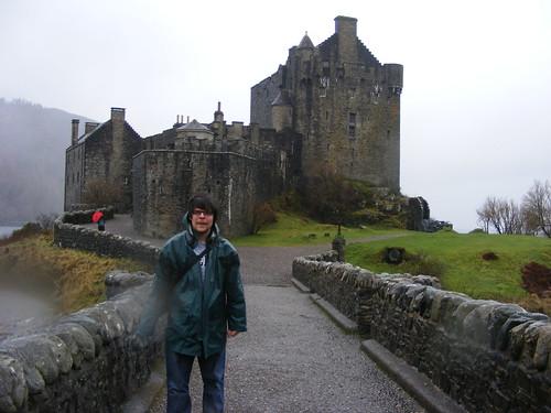 Héctor en Elian Donan Castle