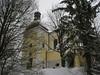 Blick auf die Kirche von Nordwest