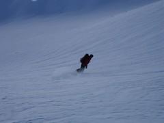 Snowboarder (Chamonix Experience) Tags: snowboarding skitouring offpiste lafloria