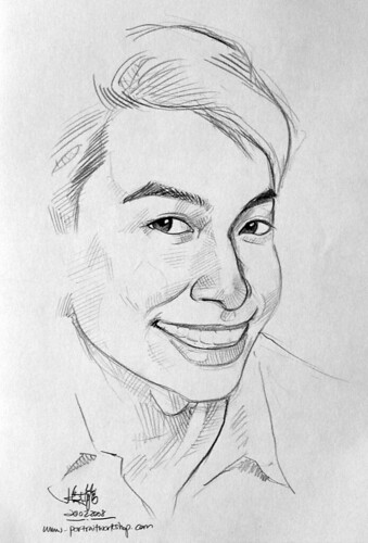 guy portrait pencil sketch 4