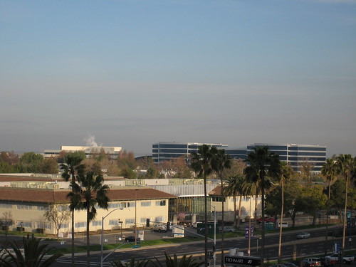 View from Santa Clara Hyatt