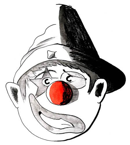 Clown livre - double