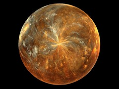 Planet Elizatane (Lynn (Gracie's mom)) Tags: wallpaper orange brown circle globe artwork round fractal apophysis fractals cammiangel ishkolorkraft clevercreativecaptures