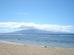Molokai from Maui