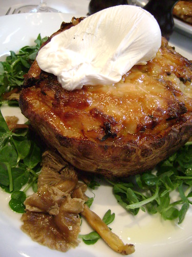 Baked Celeriac with wild mushrooms