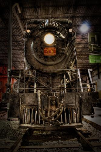 フリー画像| 電車/列車| 蒸気機関車| HDR画像|        フリー素材|