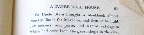 marjorie's paper house book