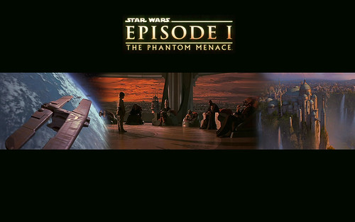 Star Wars, episode 1 The Phantom Menace banner wallpaper, star wars wallpapers, starwars enterprise voyage