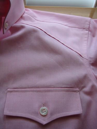 Vandecasteele Western shirt mod 02