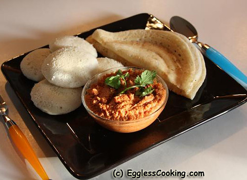 Serve with Idly and Dosa