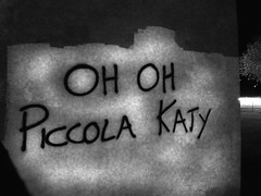 Oh Oh, Piccola Katy.. (*Tom [luckytom] ) Tags: bw music white black wall tom graffiti lyrics interestingness italian estate katy song text bn pooh musica mostinteresting oh bianco nero songs maserati piccola italiana testo phoo ctm voghera itis canzone favcol liceotecnologico canzonissima luckytom ohohpiccolakaty