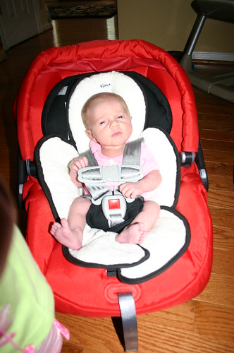 Madelyn in Car seats