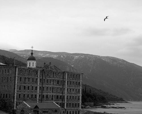 ερείπια στο ρώσικο μοναστήρι