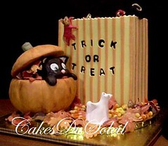 Halloween Surprise (JacqueBenson) Tags: halloween cakes specialty sugarartistry cakesdusoleil