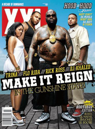 rick ross trina flo rida xxl magazine cover
