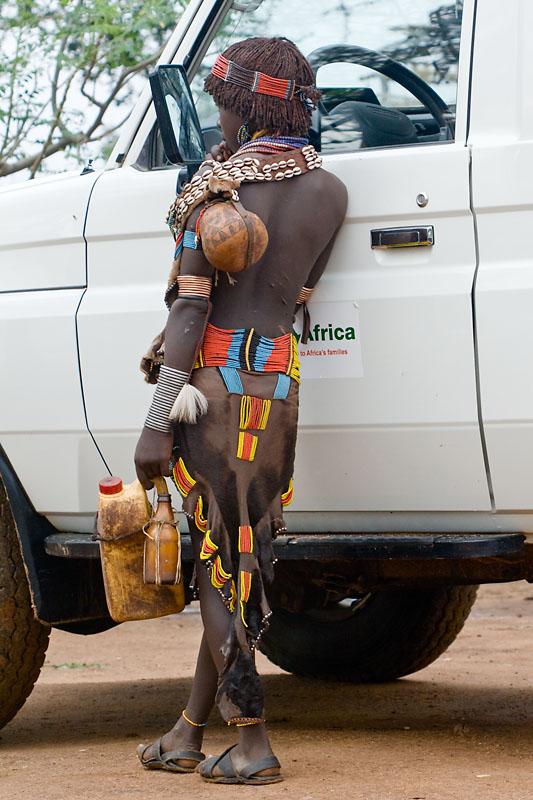 Checking the Mirror, Southern Ethiopia, November 2007