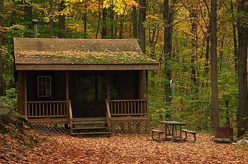 Cabin at Jenny Jump