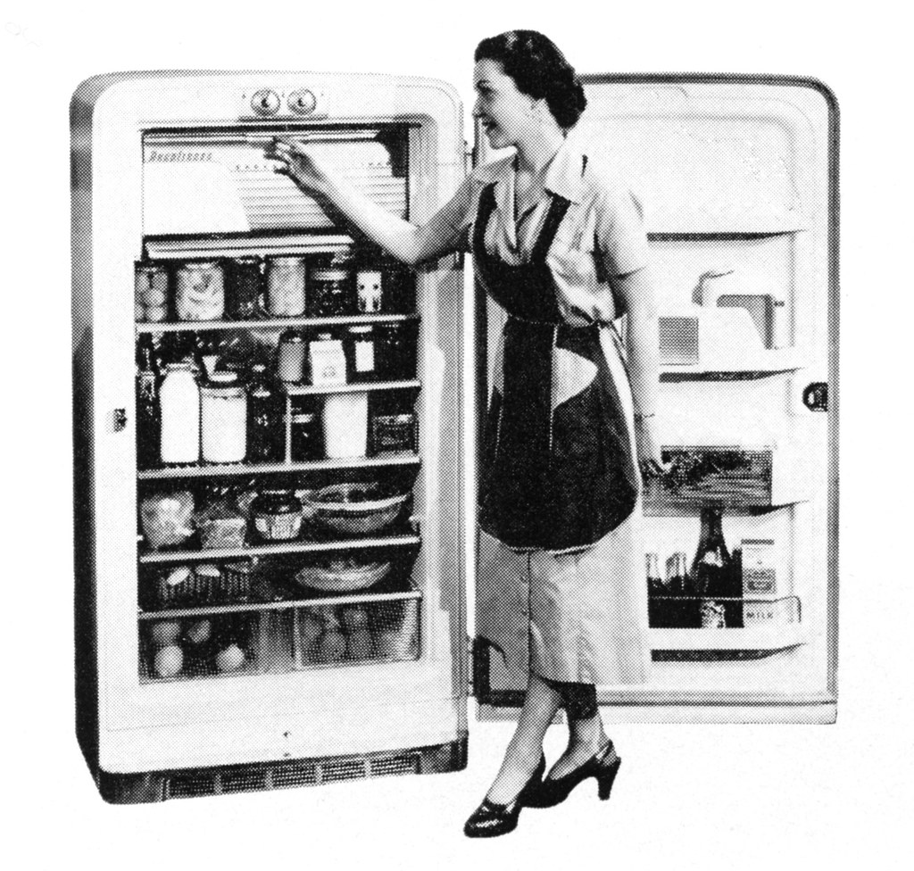 deepfreeze freezer 1954