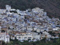 Chefchaouen (by_irma) Tags: city blue fab white travelling blauw morocco chefchaouen wit stad marokko reizen djoser