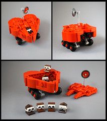 Chocolatians Beware! (TFDesigns!) Tags: lego space rover febrovery alien chocolate valentine valentines planet