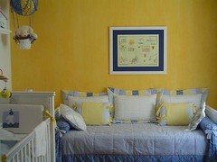 Nursery room (fecawin) Tags: baby baloon pillows crib homedecor kidsroom yellowwall quartodecriana nurseryroom