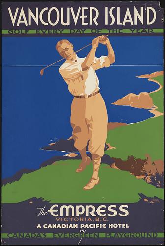van isl golf poster