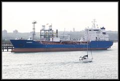 Ramira (leightonian) Tags: uk boat ship unitedkingdom isleofwight gb tanker fawley southamptonwater