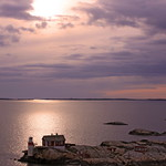 Good Night Gothenburg! Sunset over Gäveskär Light House