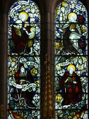 Detail Kempe stained glass Raunds