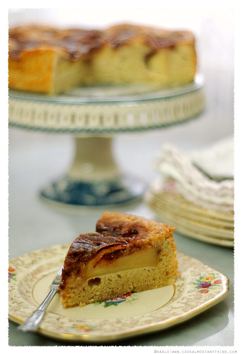 Scandinavian Apple Cake© by Haalo