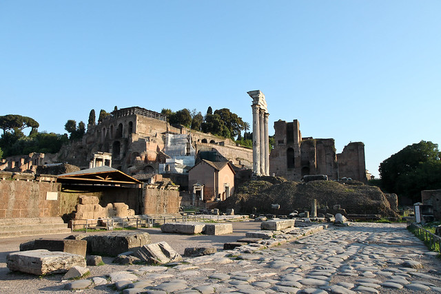 Rome. Le Forum Romain