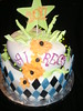AIRECA (thcakelady) Tags: diamonds graduationcake fantasyflower funkycake