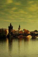 Dreamland (selmanaksoy) Tags: bridge river prague charles most vltava karlov