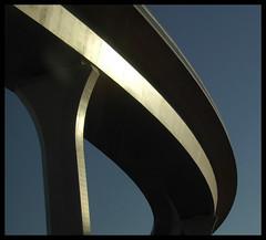 Big I (mad-eye p!e) Tags: blue sky newmexico ramp overpass albuquerque tagged explore flyover i25 i40 interchange bigi blueribbonwinner top20nm