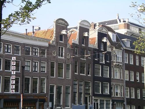 casas torcidas en Amsterdam