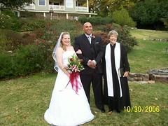 Ty & Tiffany with Rev. Rosset